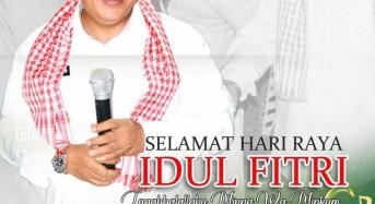 Bupati Kabupaten Minahasa Tenggara James Sumendap Ucapkan Selamat Idul Fitri 1441 H