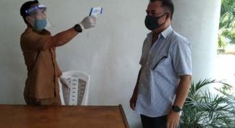 Cegah Penyebaran Covid-19, Sekertariat DPRD Minsel Berlakukan Protokol Kesehatan