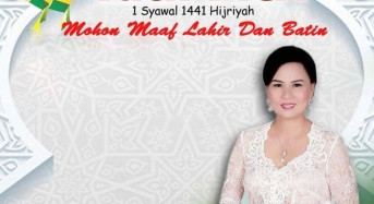 Anggota DPRD Provinsi Sulut, Djein Leonora Rende Ucapkan Selamat Idul Fitri 1441 H