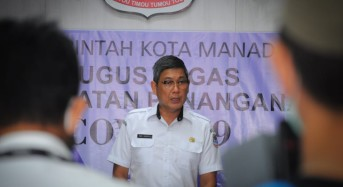 Pemkot Manado Putuskan Lewat Pos Jaga Tidak Perlu Tunjukkan Surat Rapid Test