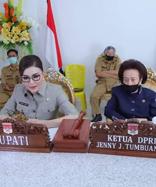 DPRD Minsel Gelar Paripurna Reses III dan Pembicaraan Tingkat I Ranperda Pertanggungjawaban APBD 2019