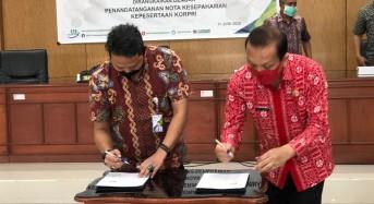 Pemkab Minahasa dan BPJS Ketenagakerjaan Teken Nota Kesepahaman