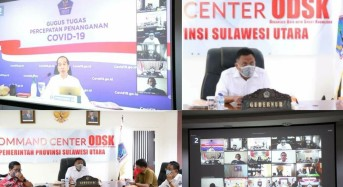 OD – SK Ikuti Vidcon Penanganan Covid-19 dengan Presiden Jokowi, Bahas Pelaksanaan New Normal