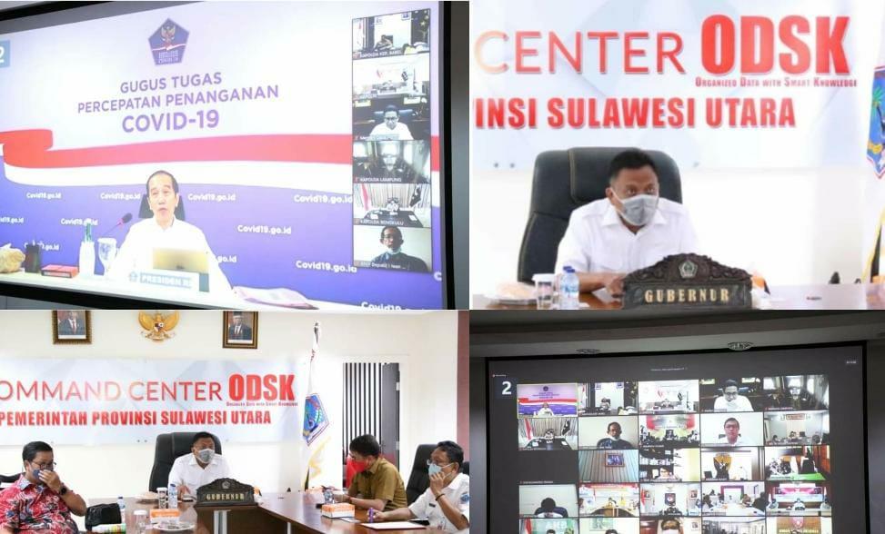 ODSK vidcon dengan Presiden Jokowi