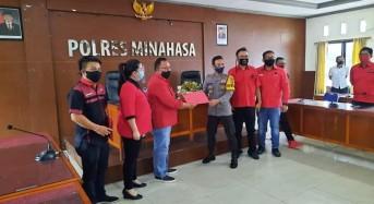 PDIP Minahasa Laporkan Aksi Pembakaran Bendera Partai