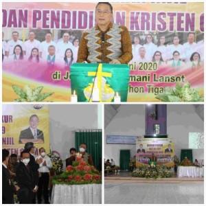 Jimmy Feidie Eman SE Ak CA, Ketua Umum Panityia HUT ke=-189 PI dan PK serta 86 Tahun  GMIM Bersinode
