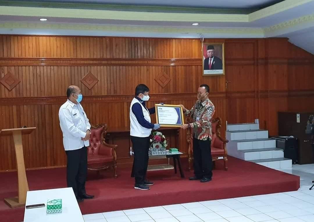 Pemkot Manado Dapat Penghargaan Kapabilitas APIP Level 3 dari BPKP