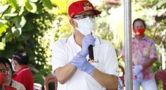 ROR – RD Dampingi Gubernur Sulut di Penyerahan Sertifikat Redistribusi Tanah dan Bansos