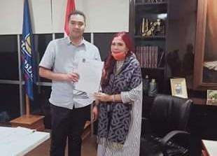 SK Calon Gubernur Sulut Partai NasDem Digenggam VAP