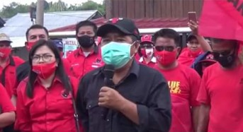 """Terkait Pembakaran Bendera PDI-P, Sumendap: Jika Terjadi di Mitra Saya """"Sikat"""""""