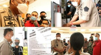 New Normal, Gubernur Olly Tinjau Salah Satu Pusat Perbelanjaan di Manado