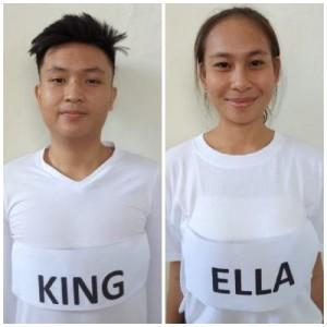 Kingjordan dan Gabriella, Paskibraka Tomohon yang lolos ke tingkat provinsi