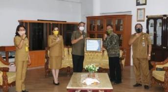 Wali Kota Tomohon Terima Penghargaan Kapabilitas APIP