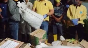 Kecamatan Kumelembuai Serahkan Bantuan 3.5 Ton Beras di Desa Raanan Lama
