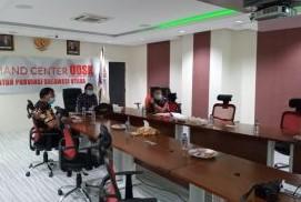 Diikuti Sekdaprov Silangen, KPK Gelar Ikuti Rakor Online Bahas Penertiban Aset Pemda