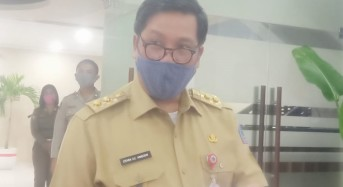 Sulut Tertinggi di Indonesia Penularan Covid-19, Wagub Kandouw: Ini Tanda Awas Bagi Warga, Patuhi Protokol Kesehatan Covid-19