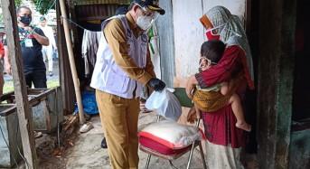 GSVL Turun Langsung Salurkan Bantuan Tahap II di Kelurahan Paal 4