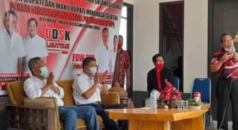 Mantan Kaban BPBD Sulut Noldy Liow Siap Menangkan OD-SK dan FDW-PYR