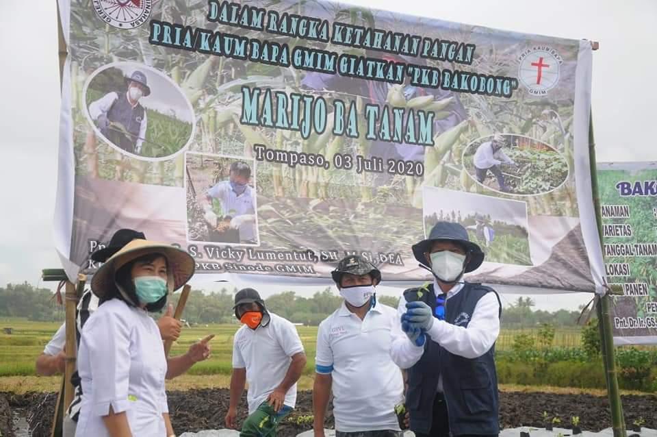 Lumentut Ajak Warga P/KB GMIM Galakkan Program Ba Kobong