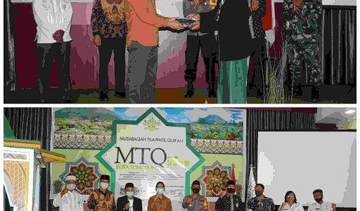 Wali Kota Tomohon: MTQ Punya Posisi Vital Dalam Membangun Ahlak