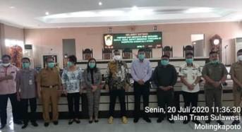 Pemkab Bersama DPRD Mitra Gelar Kunjungan Kerja ke Gorontalo Utara