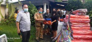 Pemprov Sulut Gerak Cepat Bantu Korban Kebakaran di Kleak