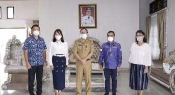 Bupati Minahasa Terima Kunker Anggota DPD–RI Stefanus Liow