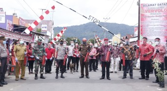 Bupati Minahasa Resmikan Desa Kanonang Satu Sebagai Kampung Mapalus Tangguh Covid-19