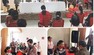 Wagub Steven Kandouw Serahkan Bantuan Program OD-SK di Desa Pangu