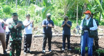 Bersinergi, Wali Kota Bersama Danrem dan Dandim Ba Kobong di Kecamatan Bunaken Kepulauan