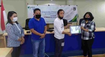 Pemkot Tomohon Terima Bantuan Bapok dari BPJS Ketenagakerjaan