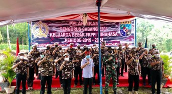 Fenny Roring Lumanauw Pimpin FKPPI Minahasa Periode 2020-2024