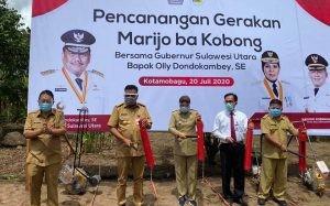 Kunker di Kotamobagu dan Bolmong, Gubernur Olly Canangkan Gerakan Mari Jo Bakobong