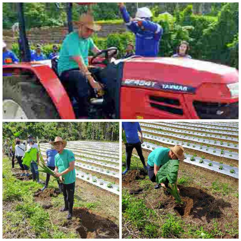 Menanam, Pemeirntah Kota Tomohon siapkan alat untuk meringankan beban para petani