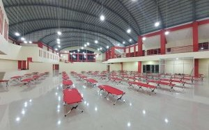 Rumah Sakit Rujukan Penanganan Pasien Covid-19 di Gedung Kitawaya dan Bapelkes Siap Dioperasikan
