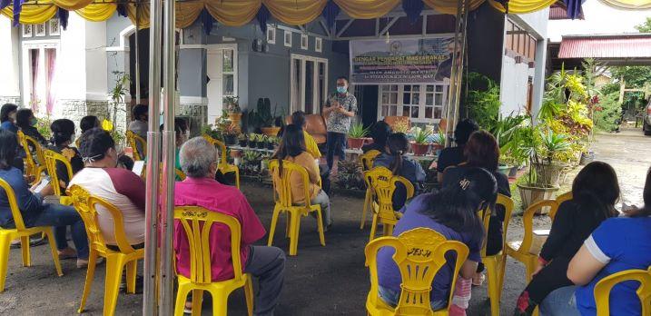 SBANL menggelar kegiatan Dengar Pendapat Masyarakaty (DPM) di Tomohon Selatan