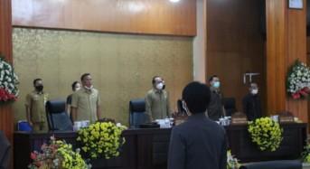 DPRD Tomohon Dengarkan Penjelasan Wali Kota Tentang PP APBD 2019