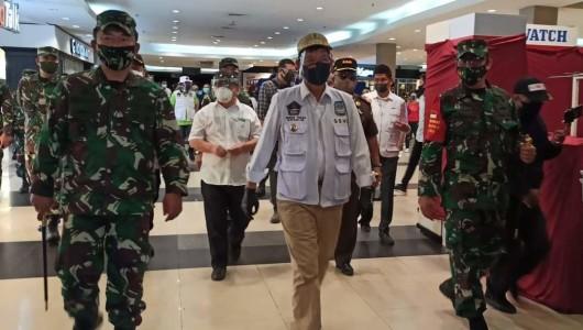 Mal Dibuka Minggu Ini, GSVL 'Titipkan' Keselamatan Masyarakat Kota Manado