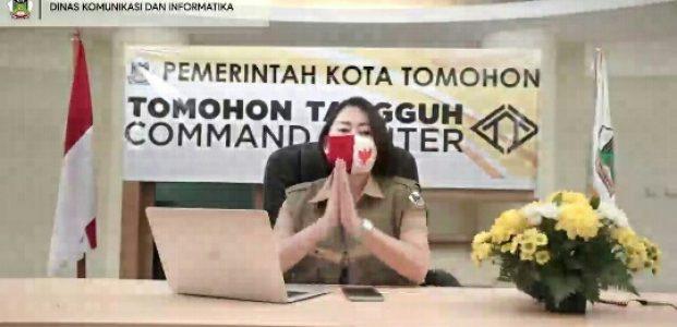 Yelly Potuh SS, Juru Bicara Gugus Tugas Percepatan Penanganan Covid-19 Kota Tomohon