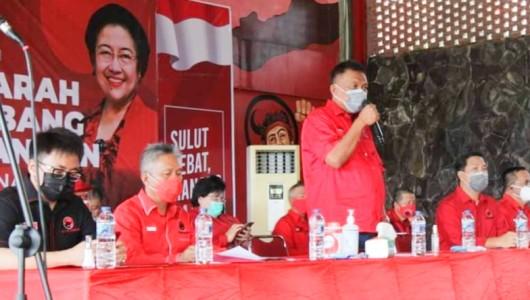 Pimpin Musancab DPC PDIP Manado, Tomohon dan Minut, Olly – Steven: Bersatu Menangi Pilkada 2020