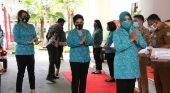 Upaya Tekan Penularan Covid-19, TP-PKK All Out Masifkan Gebrak Masker di Sulut