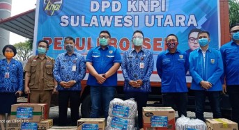 Korpri dan KNPI Sulut Kirim Bantuan untuk Korban Bencana Bolsel dan Bolmong