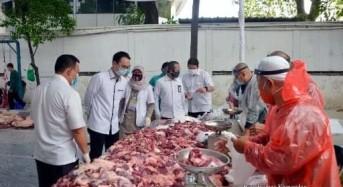 Wamendag Jerry Sambuaga Ikut Sumbang Hewan Kurban di Hari Raya Idhul Adha