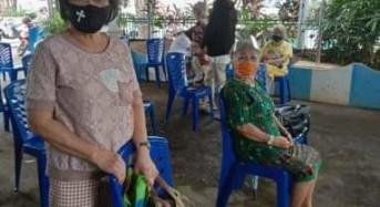 Dana Lansia Bantu Ribuan Lansia Manado di Tengah Pandemi Covid-19