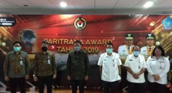 Pemprov Sulut Raih Penghargaan Paritrana Award 2019