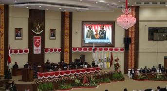OD – SK Ikuti Rapat Paripurna DPRD Sulut Mendengarkan Pidato Kenegaraan Presiden Jokowi