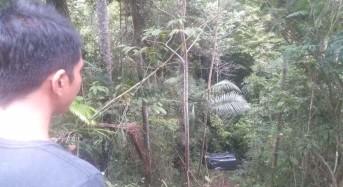 Akibat Ngantuk, Luxio Masuk Jurang di Gunung Potong Minahasa Tenggara