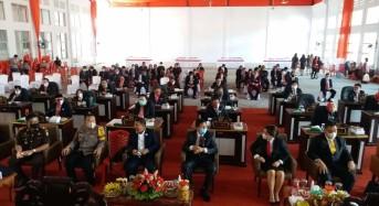 JS-JL Ikut Rapat Paripurna DPRD Mitra Dengarkan Pidato Kenegaraan Presiden Jokowi