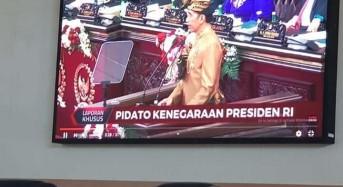 DPRD Minsel Akan Gunakan Protokol Kesehatan di Paripurna HUT RI ke-75 Mendengarkan Pidato Presiden