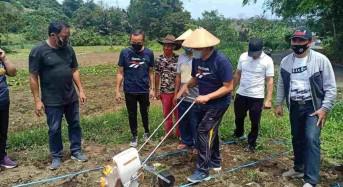 Kukuhkan Poktan Galangan, Wali Kota Tomohon Tanam Jagung